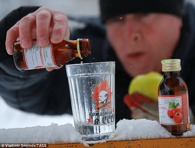 In the News: Russian Drinking